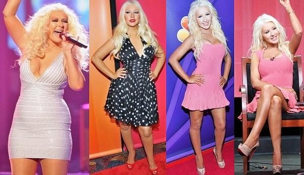 celebrities losing weight