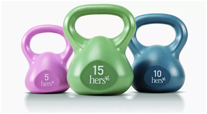 Weighted Kettlebell Set