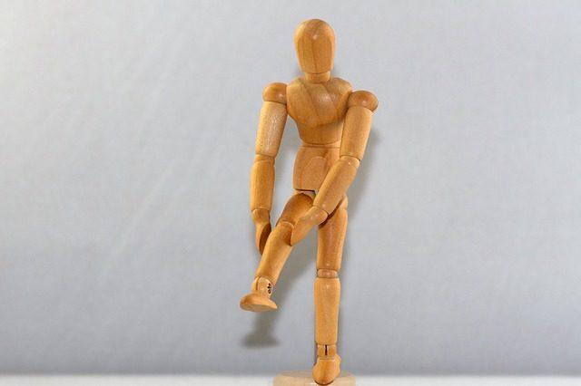 sudden knee pain